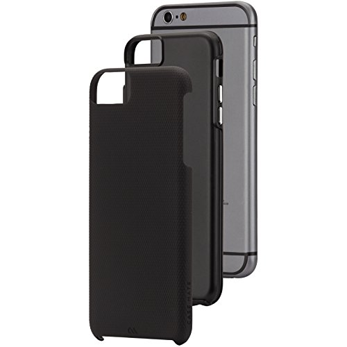 【デュアルレイヤープロテクション】 Case-Mate 日本正規品 iPhone6s Plus / iPhone6 Plus 5.5 inch 両対応 Hybrid Tough Case, Black / Black ハイブリッド タフ ケース 【タフネス構造】 CM031447