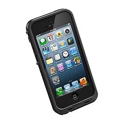 【日本正規代理店品・保証付】LIFEPROOF Apple au softbank iPhone5用防水防塵耐衝撃ケース LifeProof fre iPhone5 ブラック 1301-'01