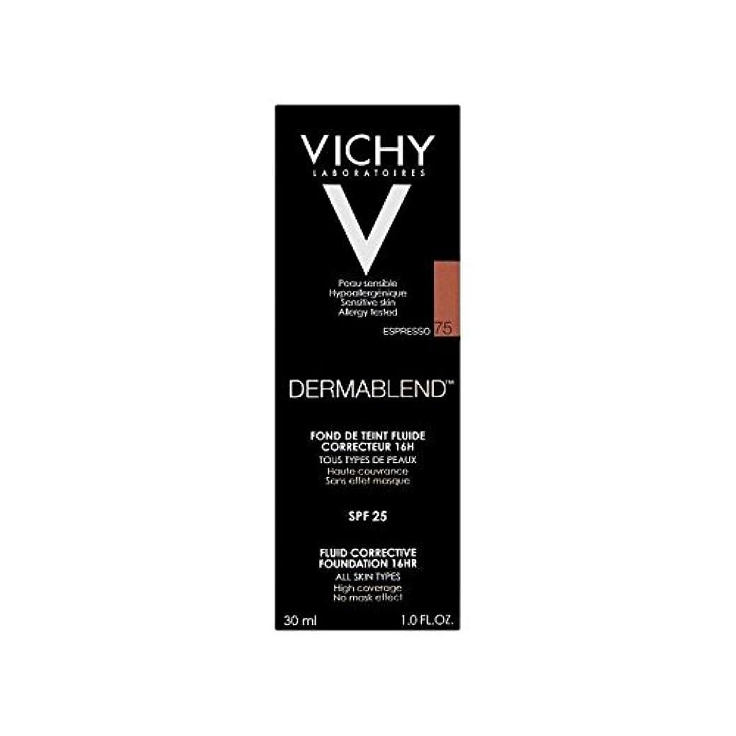前書き霊委員会ヴィシー是正流体の基礎30ミリリットルオパール15 x4 - Vichy Dermablend Corrective Fluid Foundation 30ml Opal 15 (Pack of 4) [並行輸入品]