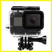 Go Pro 7カメラ用耐衝撃ハウジングケースブラック防水ケースカバーダイビング保護ハウジングシェル45m