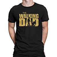 Buzz Shirts The Walking DAD Mens Tshirt Dead Funny Birthday Fathers Day Christmas Daddy
