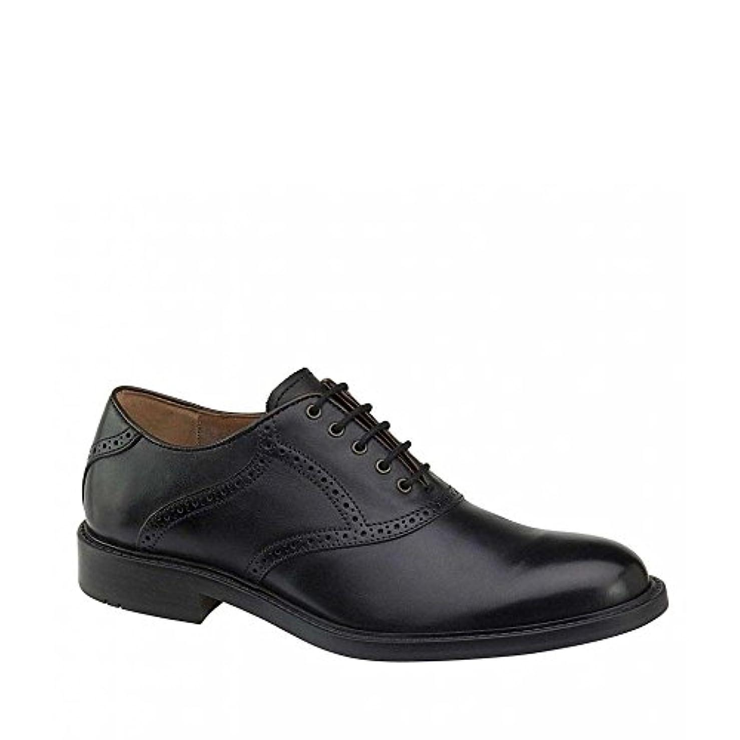 心のこもったふさわしいネクタイ(ジョンストン&マーフィー) Johnston & Murphy メンズ シューズ?靴 革靴?ビジネスシューズ Tabor Saddle Oxfords [並行輸入品]