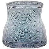 GENETHREAD(ジーンスレッド) 日本製 冷え性 炭素繊維100% 腹巻 オルガヘキサ 遠赤外線 炭巻敷布 まほうのはらまき (S, グレー)