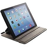 ELECOM iPad Air 2 ソフトレザーカバー 4アングルスタンドタイプ ブラック TB-A14PLF2BK