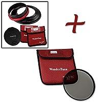 WonderPana 145Essentials Kit–145mmフィルタホルダー、レンズキャップ& CPLフィルタfor Tokina 16–28mm f / 2.8at - X Pro FXレンズ(35mm)