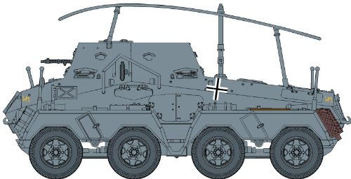 1/72 Sd.Kfz.263 (8Rad) 8輪 重装甲長距離無線車