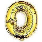 RICISUNG ちょうど良い大きさ 数字バルーン ゴールド 誕生日 ウェディング パーティーに