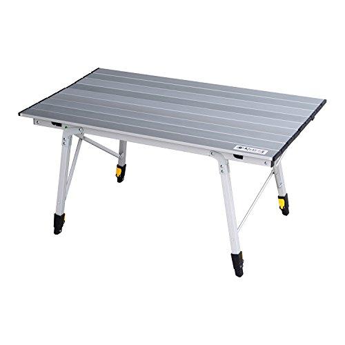エリッゼ アルミ伸縮式ロールテーブル