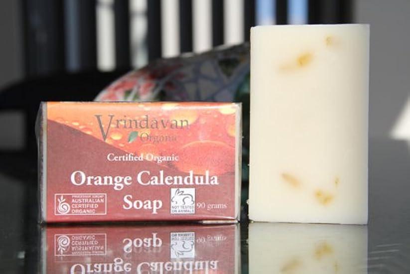 励起対応気楽なヴリンダバン オーガニックソープ No.3 Orange Calendula