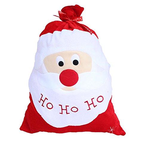Honeystore クリスマス 袋 クリスマス飾り サンタクロース サンタさん クリスマスラッピング サンタのプレゼント袋 サンタ袋