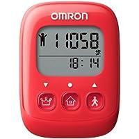 オムロン(OMRON) 歩数計 WellnessLink レッド HJ-326F-R