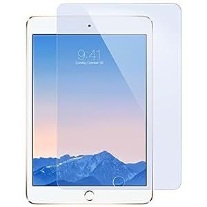 iPad Mini4 フィルム ブルーライトカット 90% ESR 保護強化ガラスフィルム 硬度9H 反射防止フィルム iPad Mini4専用保護フィルム