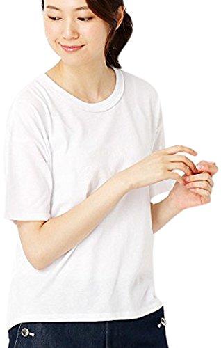 (コムサ イズム) COMME CA ISM プリントロゴTシャツ 12-64CZ10-107 M ホワイト