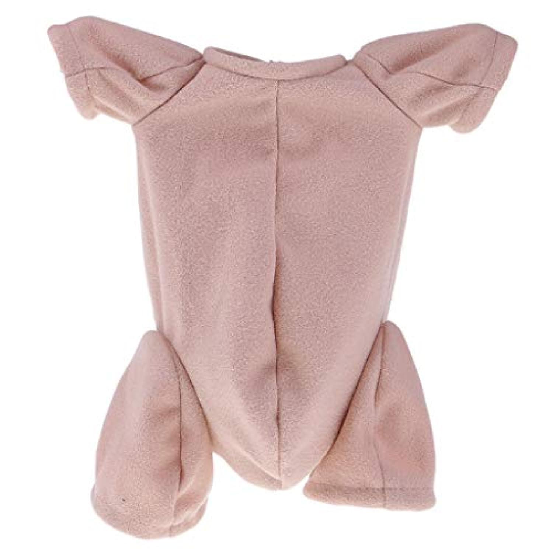 Baoblaze ベビードール用品 布のボディ ドール人形 DIY用 人形DIYアクセサリー 固定バンド付き 22インチ