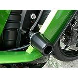 アグラス(AGRAS) レーシングスライダー フレームタイプ ロゴ有 ジュラコン:ブラック NINJA1000[Z1000SX](11) 342-486-000BX