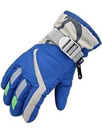 (ジェーナイス) JNINTH 手袋 子供用 通学用 暖かい グローブ 防水 厚手 防寒 保温 冬 アウトドア ユニセックス 男女兼用