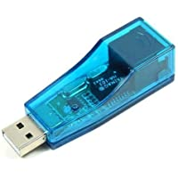 sherry  USB 2.0イーサネット10/100MbpsネットワークLAN RJ45アダプタ