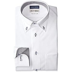[ハルヤマ] HARUYAMA i-Shirt 完全ノーアイロン 360°ストレッチ 速乾 長袖 アイシャツ メンズ M151180077 ホワイト M151180079 日本 LL84(首回り43cm×裄丈84cm)-(日本サイズXL相当)
