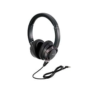 エレコム ハイレゾヘッドホン ハイレゾ音源対応 LCPフィルム振動板タイプ ブラック EHP-F/OH2000ABK