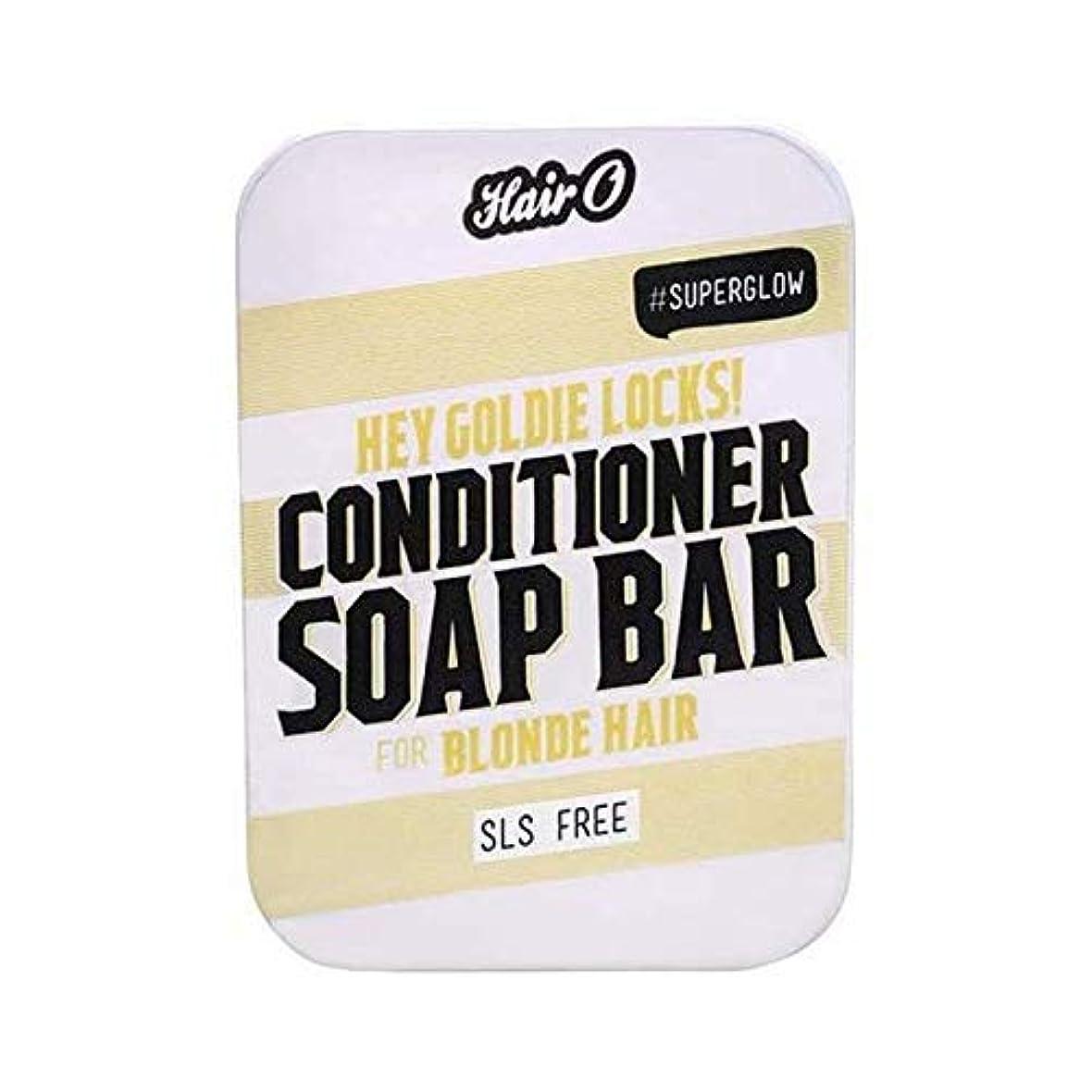 対応するロータリー祝福[Hair O ] 髪ちょっとOゴールディロックCondtioner石鹸バー100グラム - Hair O Hey Goldie Locks Condtioner Soap Bar 100g [並行輸入品]