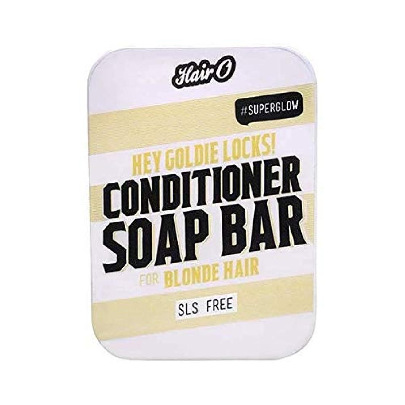 優しい加入好奇心[Hair O ] 髪ちょっとOゴールディロックCondtioner石鹸バー100グラム - Hair O Hey Goldie Locks Condtioner Soap Bar 100g [並行輸入品]