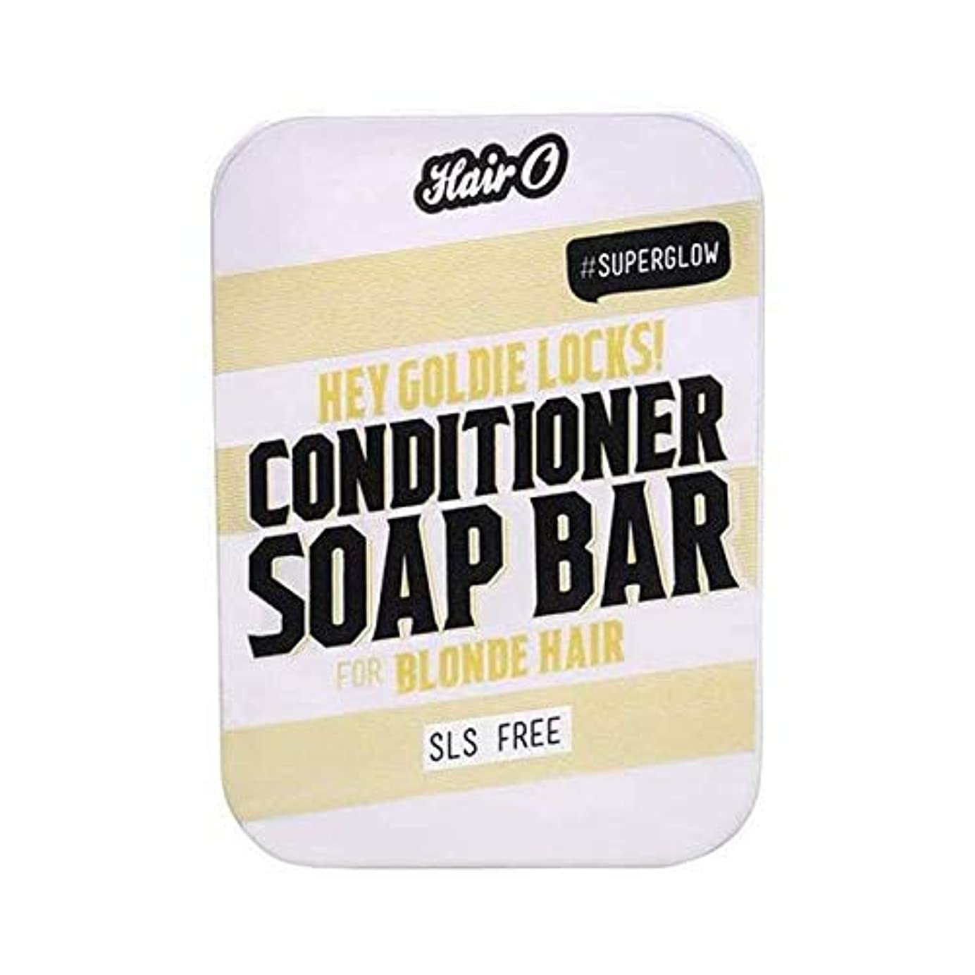 [Hair O ] 髪ちょっとOゴールディロックCondtioner石鹸バー100グラム - Hair O Hey Goldie Locks Condtioner Soap Bar 100g [並行輸入品]