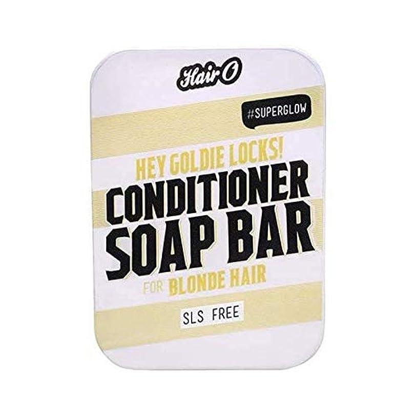 主にドロップ行商人[Hair O ] 髪ちょっとOゴールディロックCondtioner石鹸バー100グラム - Hair O Hey Goldie Locks Condtioner Soap Bar 100g [並行輸入品]
