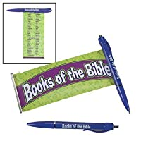 Religious Books Of The Bible Scroll Pen - Teaching Supplies & Stationery & Pens & Pencils [並行輸入品]