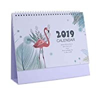 2019年オフィスホーム紙デスクトップカレンダーデスクスタンドカレンダープランナー - 14