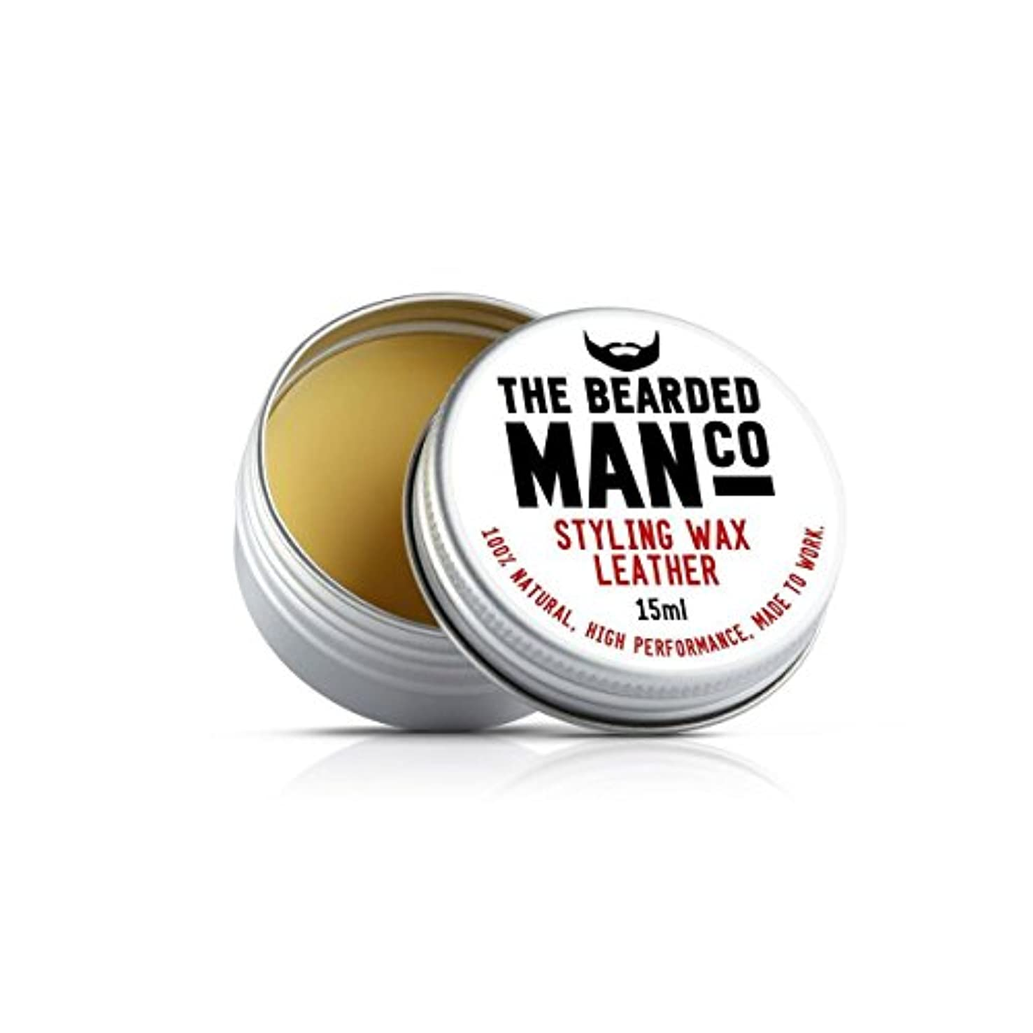 荒野愛情深い起きているThe Bearded Man Companyシチリアレモン香りひげ香油