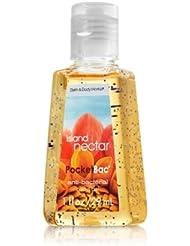 バス&ボディワークス ハンドジェル 29ml アイランド ネクター Anti-Bacterial PocketBac Sanitizing Hand Gel Island Nectar [並行輸入品]
