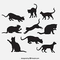 MIYA 猫 LED ポインター 猫 光る おもちゃ 猫おもちゃ 猫じゃらし 人気 猫ちゃん運動不足、ストレス解消に じゃれ猫 (ホワイト)
