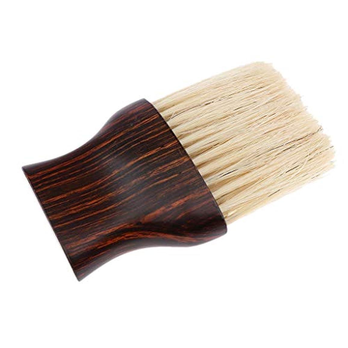 等価等価コテージヘアブラシ 毛払いブラシ 散髪 髪切り 散髪用ツール 床屋 理髪店 美容院 ソフトブラシ