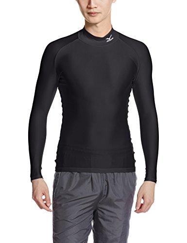 (ミズノ)MIZUNO メンズ バイオギアシャツ(ハイネック長袖) A60BS350 09 ブラック M