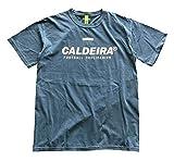 キャルデラ(CALDEIRA) ガーメント ダイ ウォッシュド Tシャツ 「RAD」 CALDEIRA-9016 WASHD DENIM L