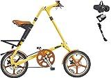STRiDA LT(ストライダ エルティー) 16インチ折り畳み自転車 +キックスタンド、FD-7 (クリーム)