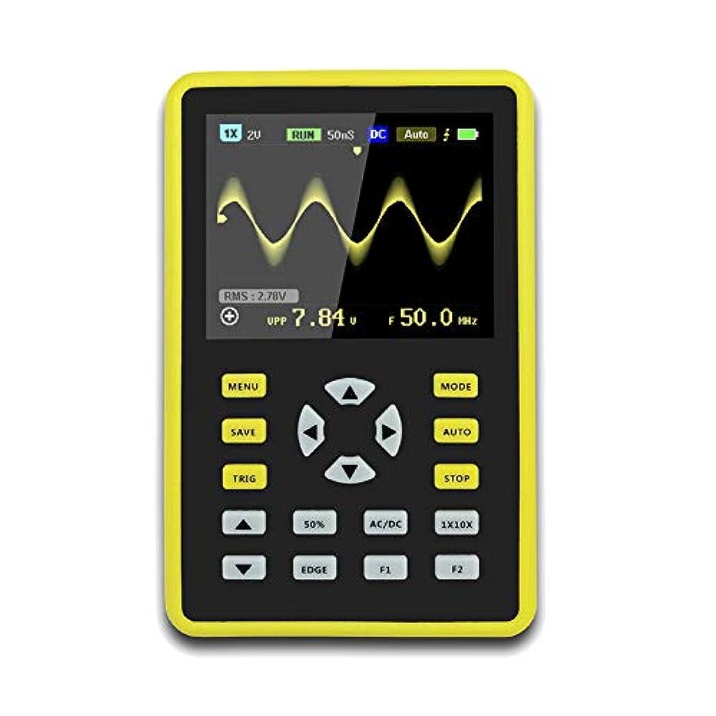 ライナー変動するはっきりしないXlp  手持ち型デジタル小型オシロスコープ2.4インチ500 MS/s IPS LCD表示スクリーンの携帯用