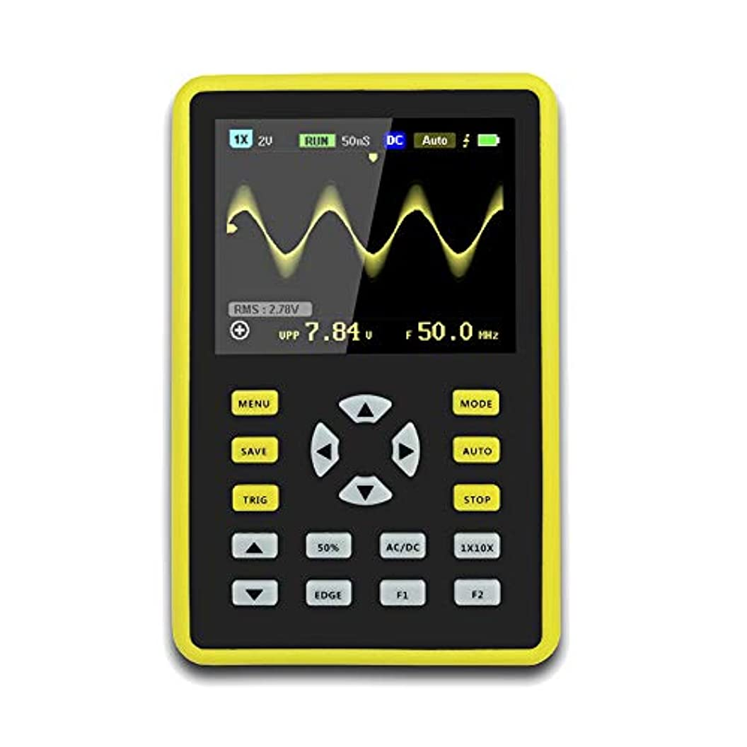 首尾一貫した補助金ヒールJanusSaja  手持ち型デジタル小型オシロスコープ2.4インチ500 MS/s IPS LCD表示スクリーンの携帯用