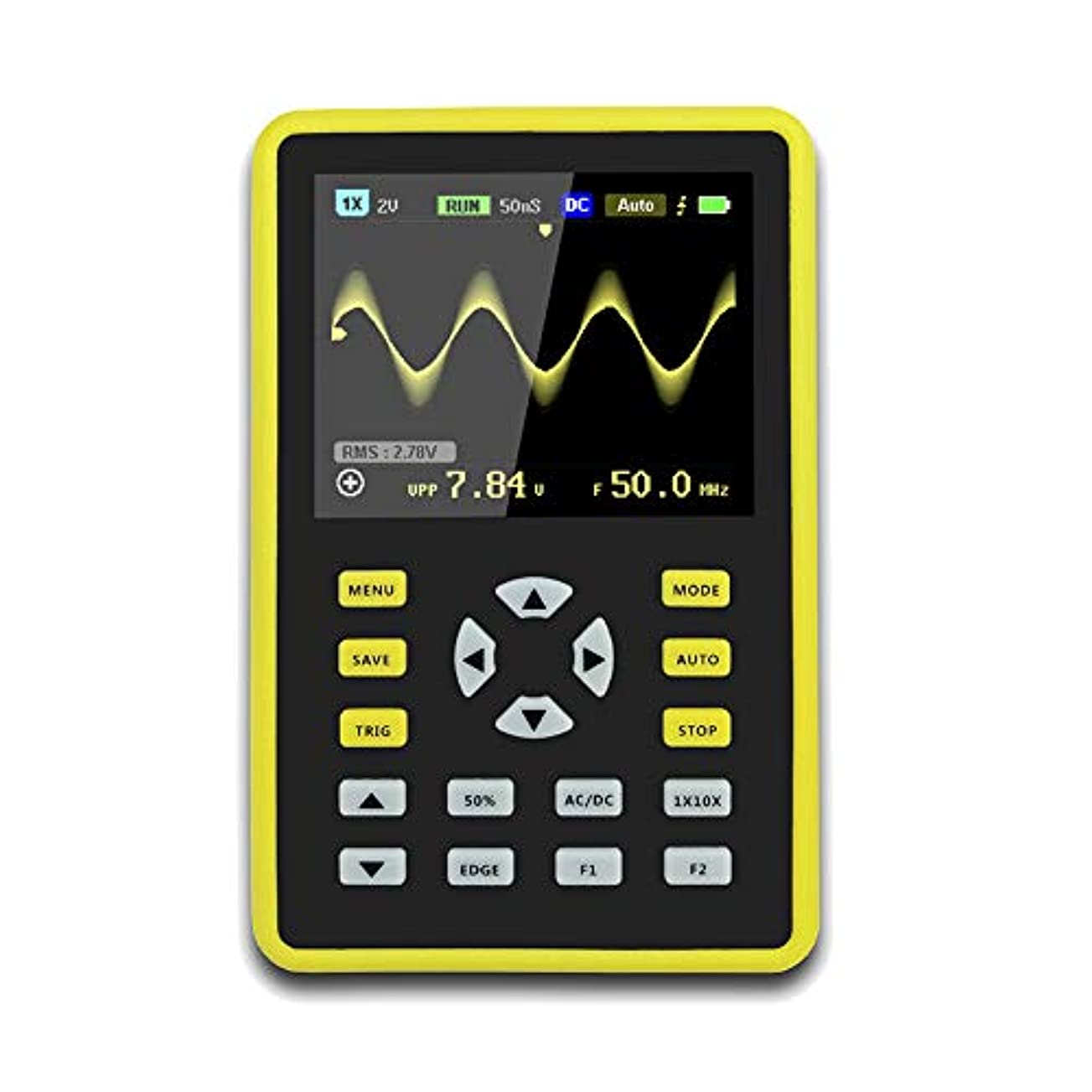 事前舗装するピアJanusSaja  手持ち型デジタル小型オシロスコープ2.4インチ500 MS/s IPS LCD表示スクリーンの携帯用