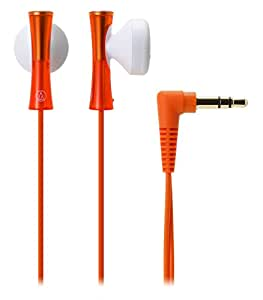 audio-technica JUICY イヤホン オレンジ ATH-J100 OR