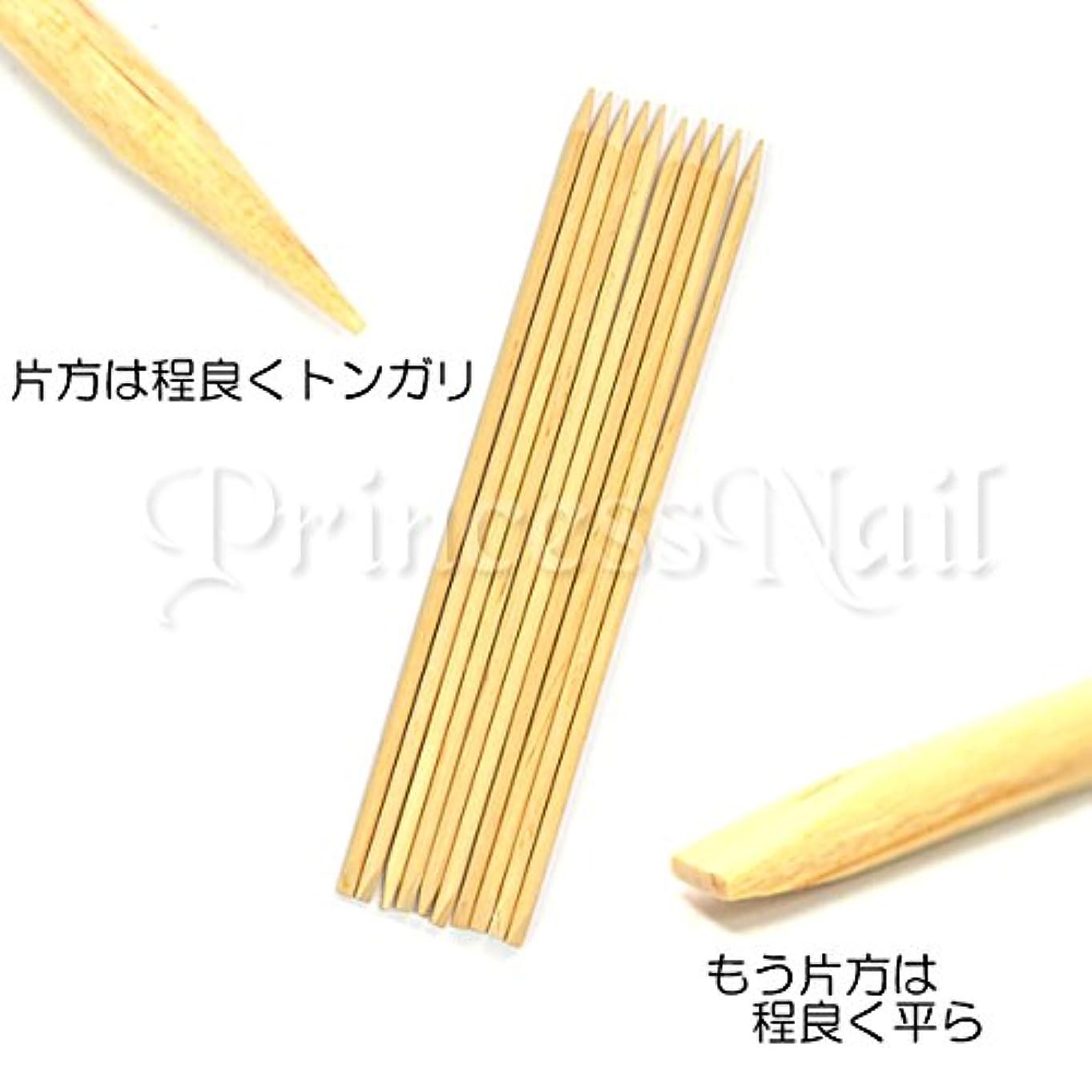 寛容な標準杖マニキュアウッドスティック20本set 2つの先端を駆使して多目的に使える優れモノのウッドスティックです。