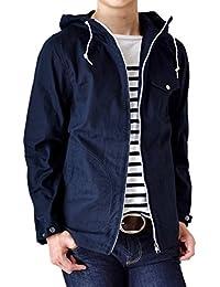 (アローナ)ARONA パーカー メンズ マリンパーカー ミリタリージャケット シャツジャケット