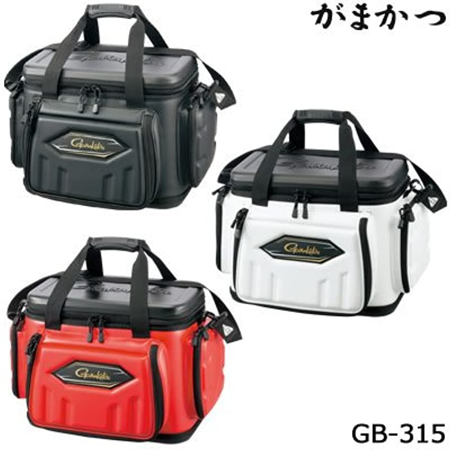 ミルクバーガー事務所がまかつ(Gamakatsu) ハイブリッド成型タックルバッグ?20 GB315 ブラック.