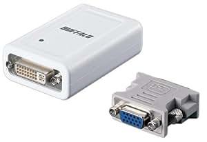 BUFFALO USB2.0用 ディスプレイ増設アダプタ GX-DVI/U2