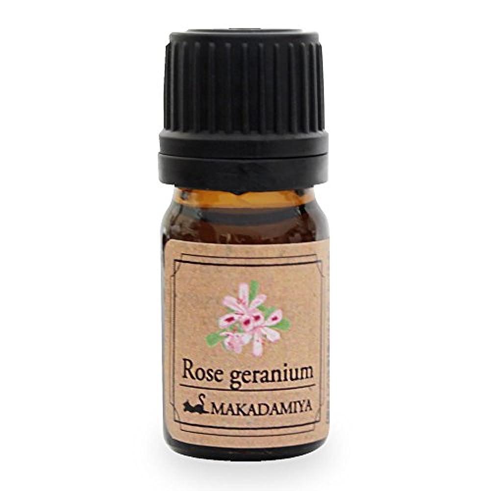 シャッター離れた警察ローズゼラニウム5ml 天然100%植物性 エッセンシャルオイル(精油) アロマオイル アロママッサージ aroma Rose Geranium