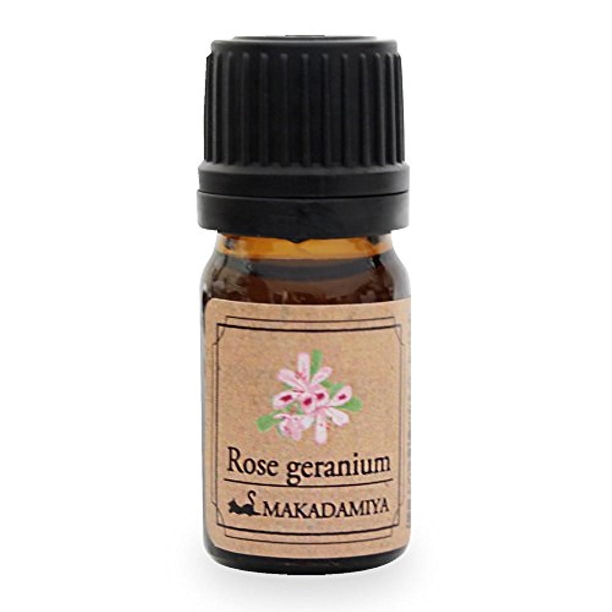シール暗殺者アジャローズゼラニウム5ml 天然100%植物性 エッセンシャルオイル(精油) アロマオイル アロママッサージ aroma Rose Geranium