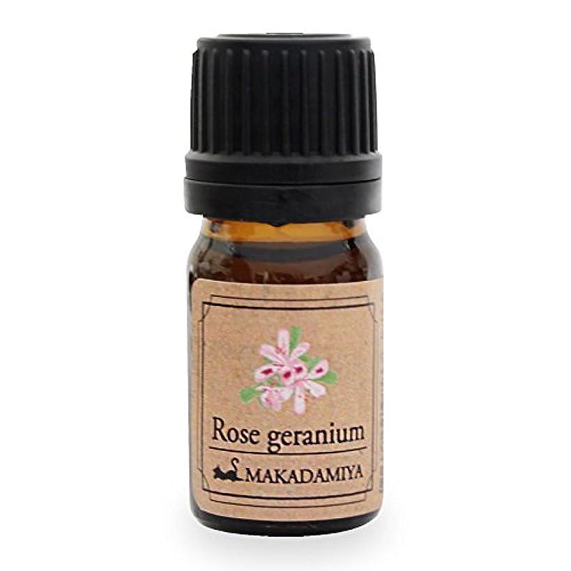 つぶやき看板職業ローズゼラニウム5ml 天然100%植物性 エッセンシャルオイル(精油) アロマオイル アロママッサージ aroma Rose Geranium