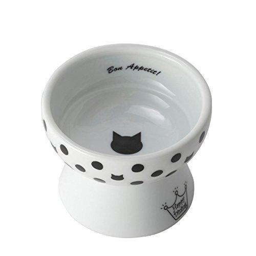 猫壱 ハッピー おやつ皿 水玉