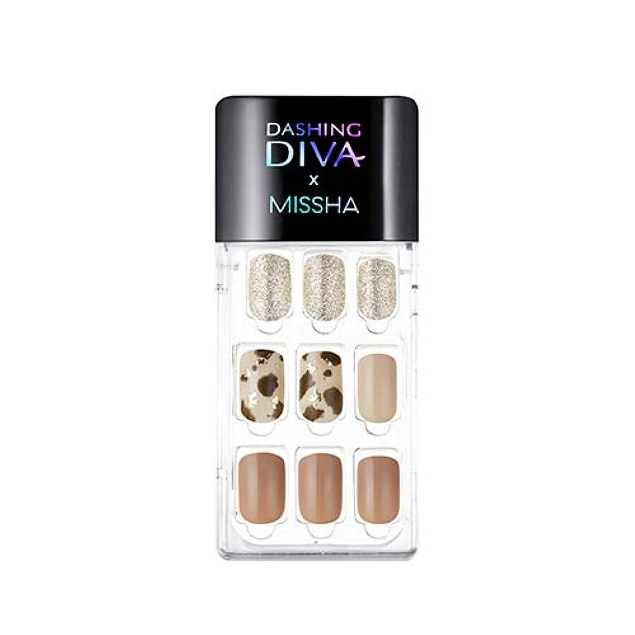 スロベニア噛む危機[ ミシャ X ダッシングディバ ] マジックプレス スーパースリムフィット MISSHA Dashing Diva Magic Press Super Slim Fit #MDR_504 Be Yours [並行輸入品]