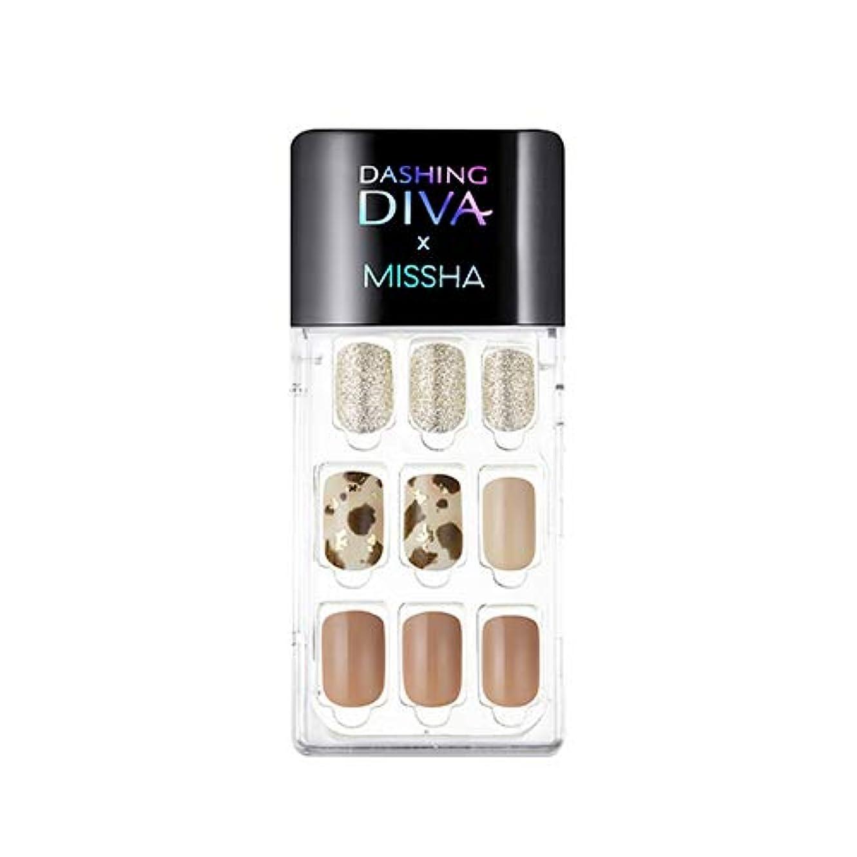 クレア注意鉄[ ミシャ X ダッシングディバ ] マジックプレス スーパースリムフィット MISSHA Dashing Diva Magic Press Super Slim Fit #MDR_504 Be Yours [並行輸入品]